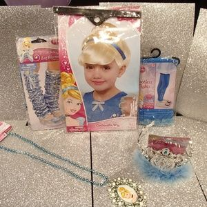 Other - Birthday Party Dress-up: Disney Cinderella (5PCS)